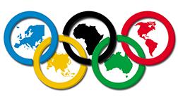 Aros olímpicos minis